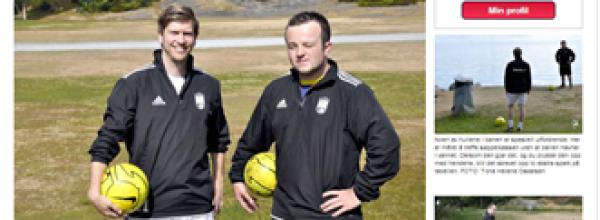 Stavanger Fotballgolf i Rogalands Avis